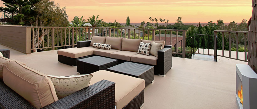 Contemporary Outdoor Space